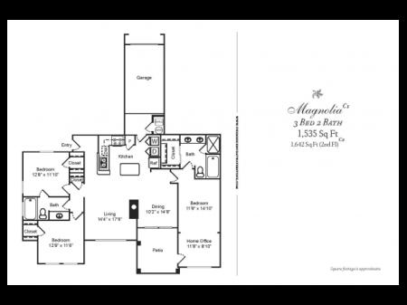 C2 CLASSIC 3 BEDROOM 2 BATH