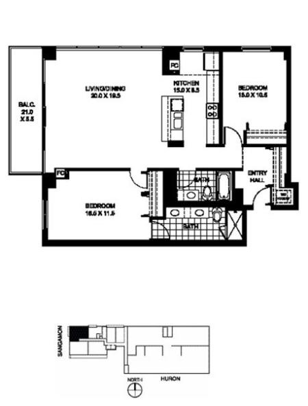 B2 - 2 Bed