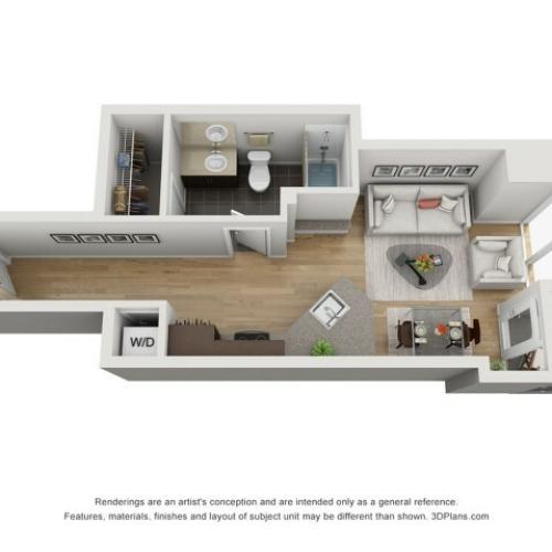 Studio Floor Plan sp1