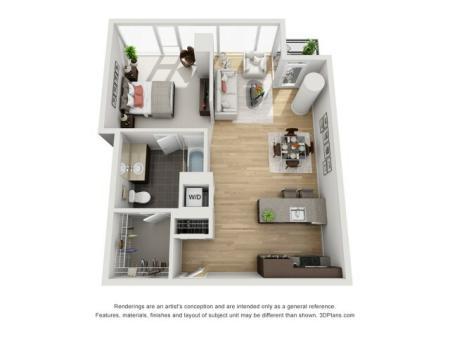One Bedroom - 1h