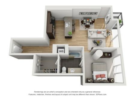 One Bedroom - 1p5