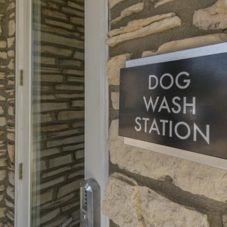 Dog Wash Station | Apartment Homes in Austin, TX | Hyde Park at Wells Branch