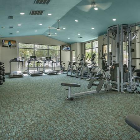 State of The Art Fitness Center | Apartment Homes in Austin, TX | Hyde Park at Wells Branch