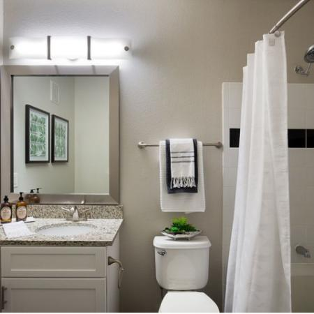 Upgraded Bathrooms | Apartments Homes for rent in Kansas City , MO | Fountain View on the Plaza