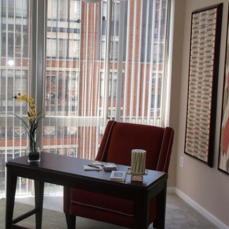 Elegant Living Room | Alexandria VA Luxury Apartments | Lincoln at Old Town