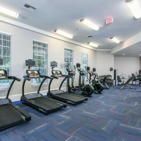 Alvista Metrowest Orlando Florida fitness center with cardio equipment and strength machines