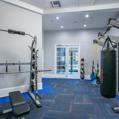 Alvista Metrowest Orlando Florida fitness center with a TRX training center