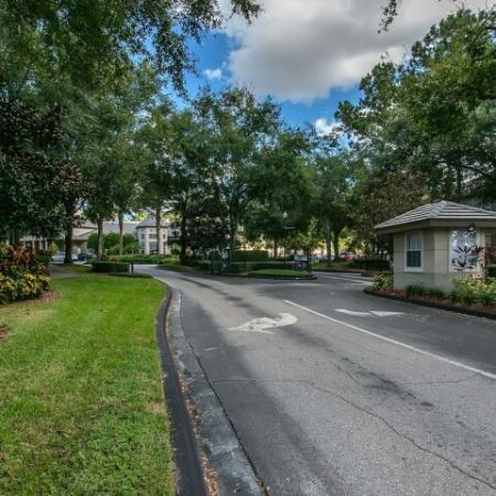 Alvista Metrowest Orlando Florida gated entrance