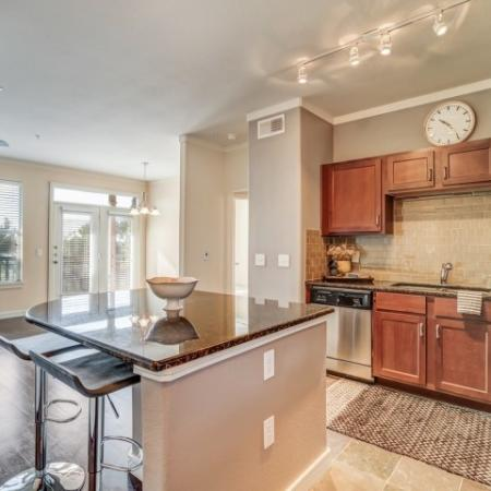 Kitchen, back splash, side by side refrigerators, tile slate entries, town home living