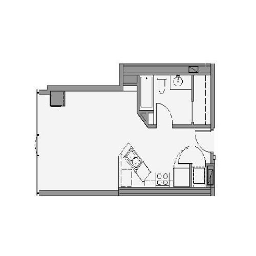 Studio Floor Plan stb