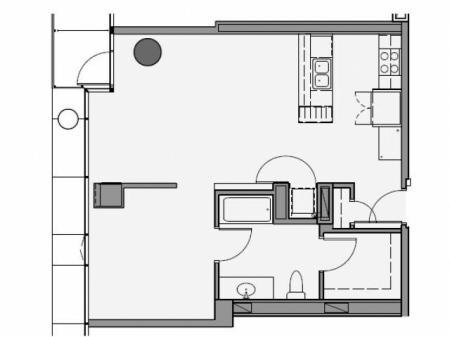 One Bedroom - 1b