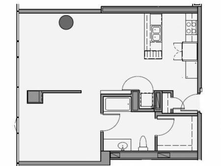 One Bedroom - 1m
