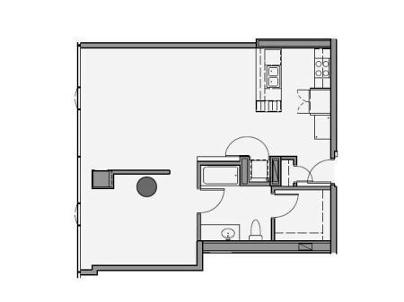 One Bedroom - 1s