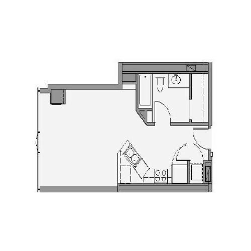 Studio Floor Plan stb