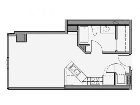 Studio Floor Plan std