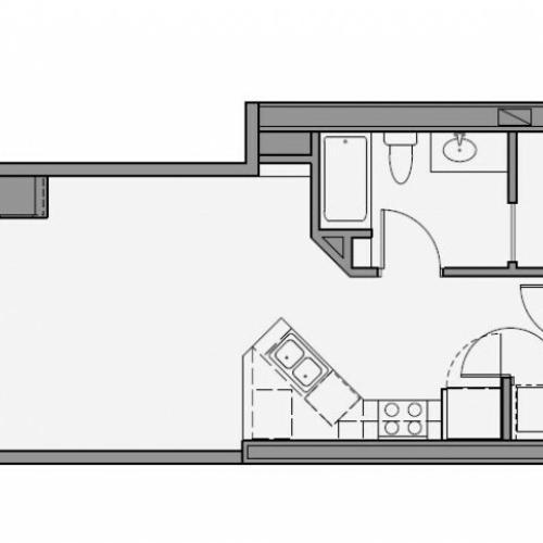 Studio Floor Plan std