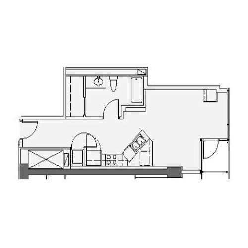 Studio Floor Plan stf