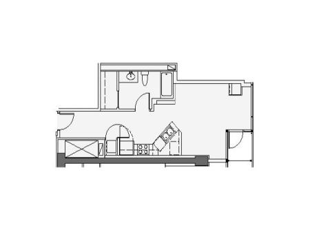 Studio Floor Plan stg
