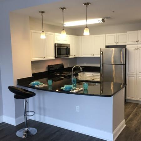 Spacious Kitchen with Ample Cabinet and Counter Space