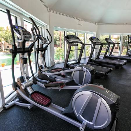 24hr Fitness Center with Lake Views