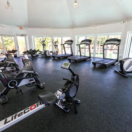 Treadmills, Rowers, Stationary bikes, and Ellipticals