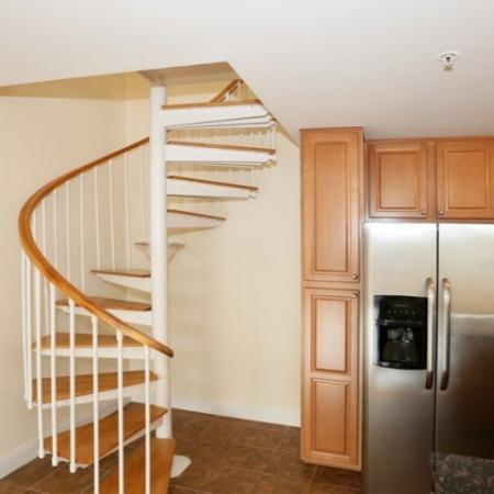 Our spacious Senior Loft homes are 1774 square feet and feature 2 bedrooms and 3 full baths!