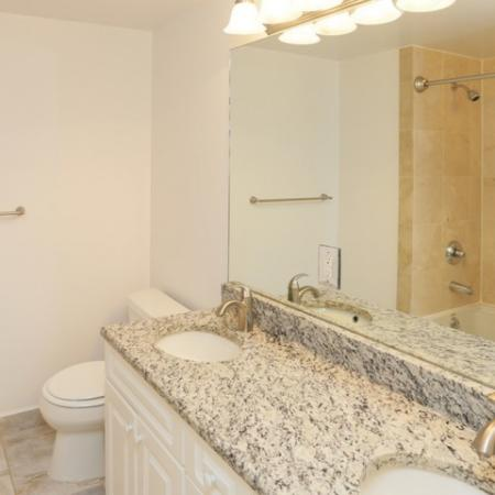 Spacious and contemporary bathrooms and finishes.