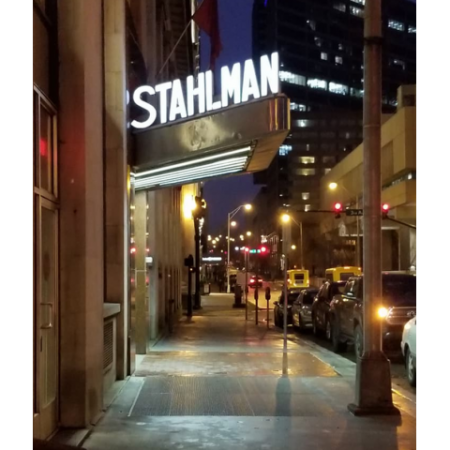Stahlman Entry Lighted Signage
