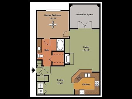 Remington at Lone Tree A4 Floorplan