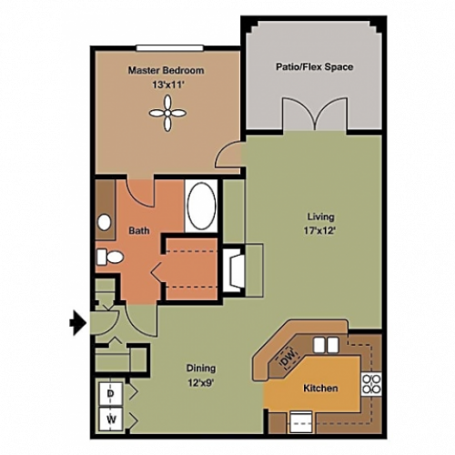 Remington at Lone Tree A4 Floorplan