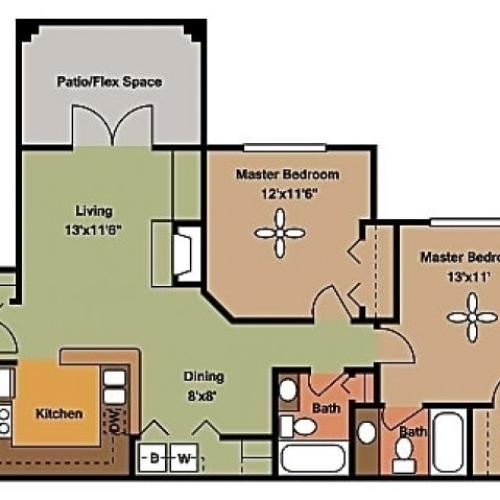 Remington at Lone Tree B1 Floorplan