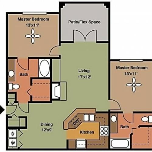 Remington at Lone Tree B4 Floorplan