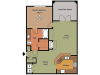 Remington at Lone Tree A3 Floorplan