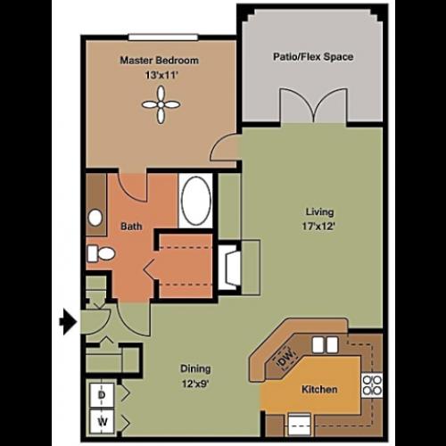 Remington at Lone Tree A3 Floorplan