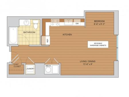 Studio Floor Plan S2