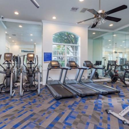 Alvista Sterling Palms Fitness Center with Ellipticals, treadmills and cycles
