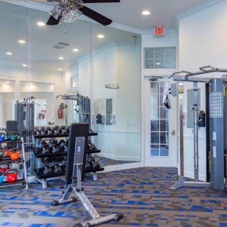 Alvista Sterling Palms Strength Equipment with Free Weights