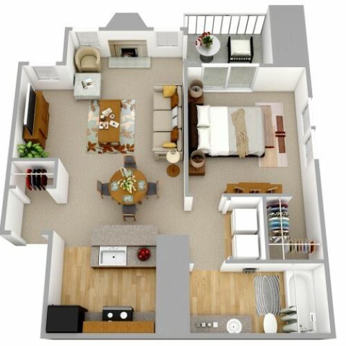 1 Bedroom Apartment Decatur GA