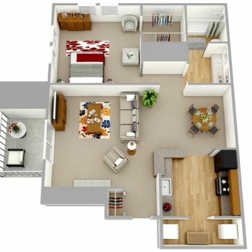 1 Bedroom apartment decatur