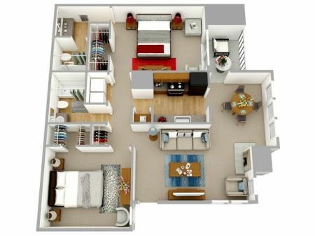 Two Bedroom Apartment Decatur GA
