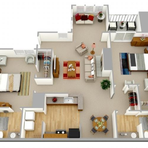 2 Bedroom Apartment Decatur GA