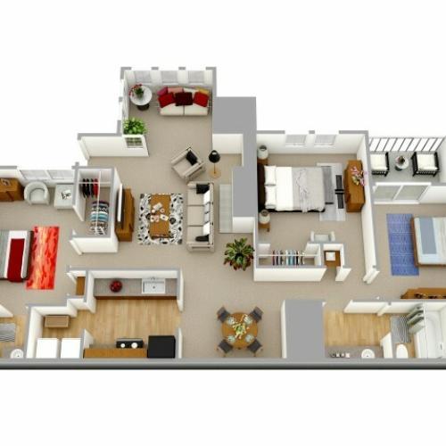 Three Bedroom apartment Decatur