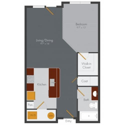 Studio Apartment Decatur