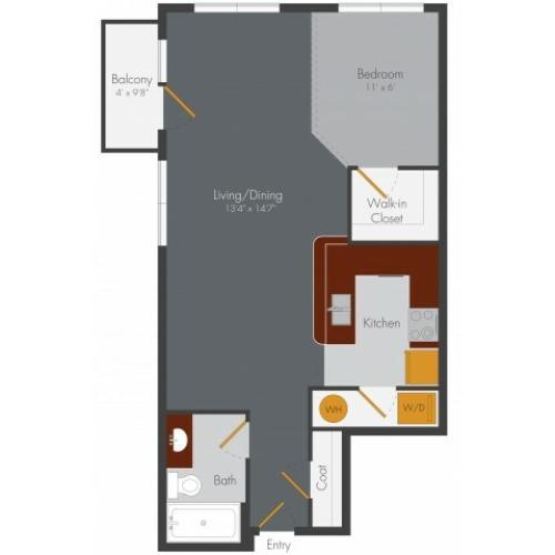 Studio Apartment Decatur