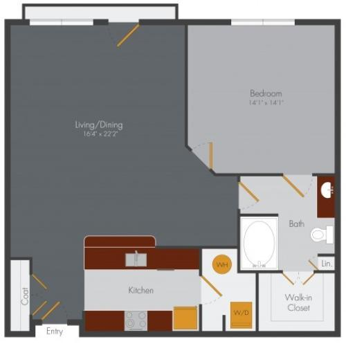 One Bedroom Apartment Decatur