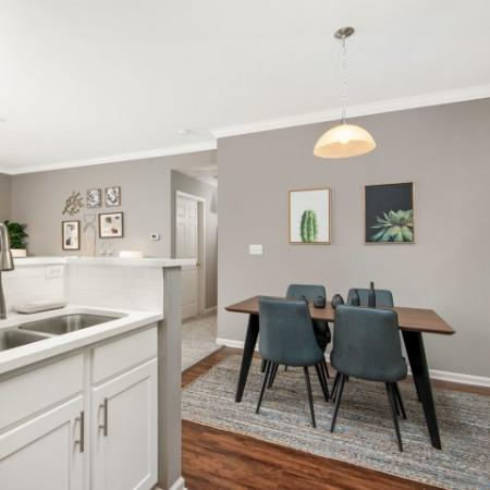 Kitchen Islands in select homes in Naperville | Thornberry Woods Apartment Homes