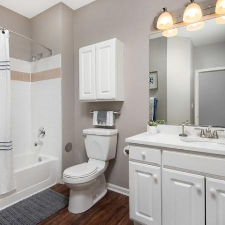 Upgraded Bathrooms in Naperville | Thornberry Woods Apartment Homes