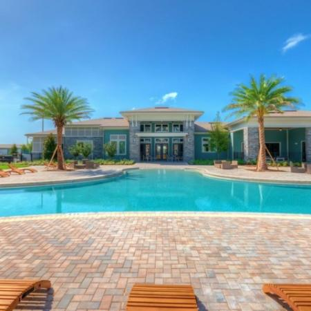 San Mateo Apartments Kissimmee Florida pool with clubhouse