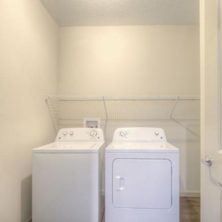 San Mateo Apartments Kissimmee Florida washer and dryer