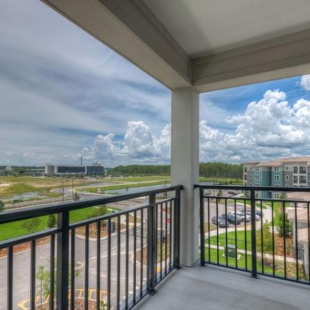San Mateo Apartments Kissimmee Florida balcony